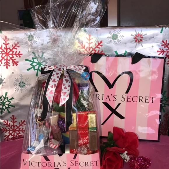 VS Victoria Secret Theme Birthday Gift Basket